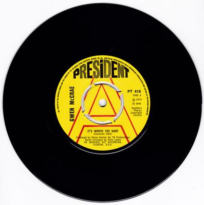 Gwen McCrae - 90% Of Me Is You  - President DEMO