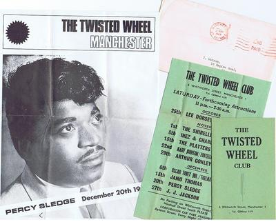 Twisted Wheel 21st. of November 1969 Mail shot..