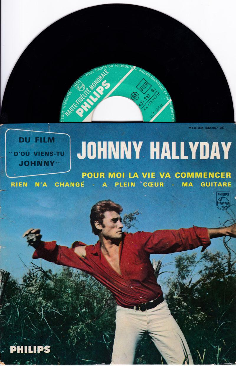 Pour Moi La Vie Va Commencer/ 1963 4 Track Ep With Cover