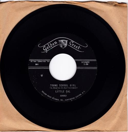 Little Cal - Young School Girl / I Sing Mother Goose Rhymes - Golden Crest CR553