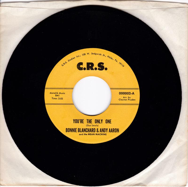 Bonnie Blanchard - You're The Only One - C.R.S.
