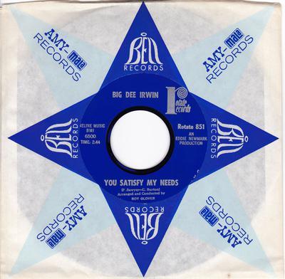 Big Dee Irwin - You Satisfy My Needs - Rotate