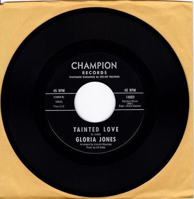 Gloria Jones - Tained Love - Champion