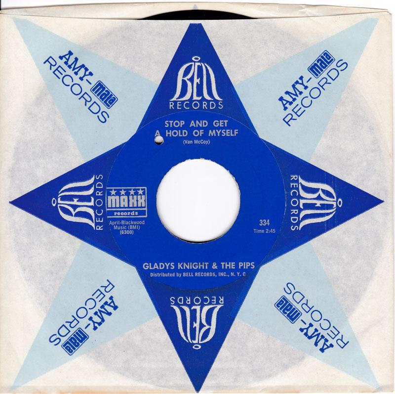 Gladys Knight & The Pips - Stop And Get Hold Of Myself - Maxx 334