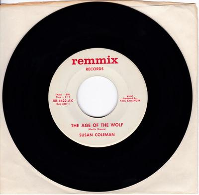Susan Coleman - The Age Of The Wolf - Remmix 4422