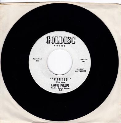 Larose Phillips - Wanted - Goldisc 1005 DJ