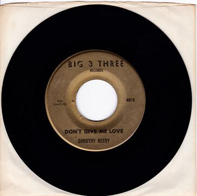 Dorothy Beery - Soul Power - Big 3 Three