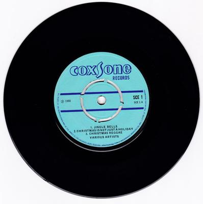 Various Artists - Coxone Christmas Greetings - Coxsone SCE 1