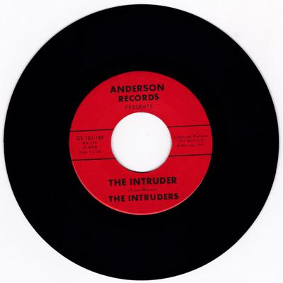 Intruders - The Intruder / Surfin' Green - Anderson Records GS 103