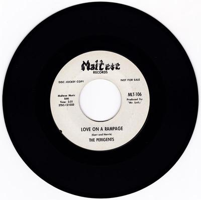 Perigents - Love On A Rampage / Better Keep Moving - Maltese MLT-106 DJ