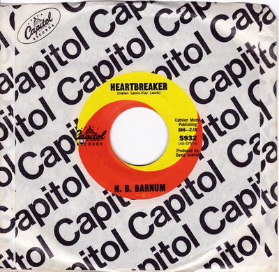 H. B. Barnum - Heartbreaker - Capitol 5932
