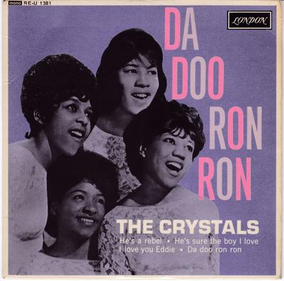 Crystals - Da Doo Ron Ron - UK London 1381 EP PS