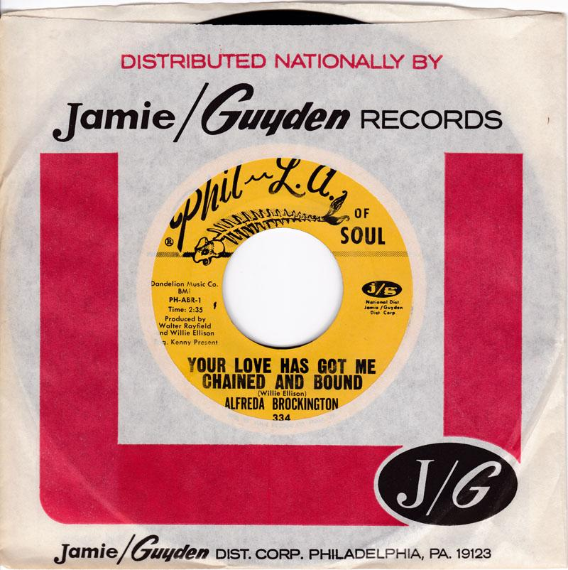 Alfred Brockington - Your Love Has Got Me Chained And Bound / I'll Wait For You - Phil La Soul 334