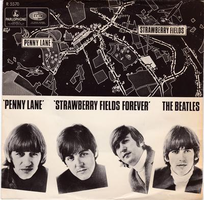 Beatles - Penny Lane / Strawberry Fields Forever - Parlophone R 5570