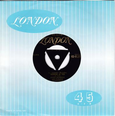 Fats Domino - Thinking Of You / I Know - London HL8133