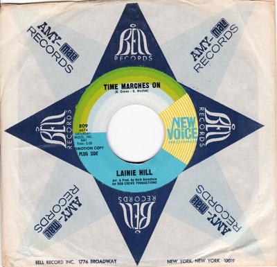 Lainie Hill - Time Marches On / Ain't I Worth a Dime - New Voice 809