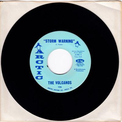 Volcanos - Storm Warning / Baby - MANSHIP MINT - Arctic 106