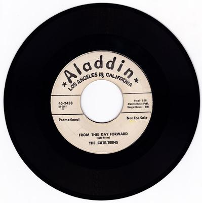 Cute-Teens  -  From This Day Forward / When My Teenage Days Are Over - Aladdin 3458 DJ