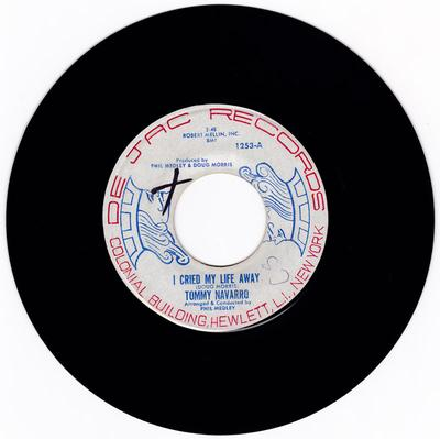 Tommy Navarro - I Cried My Life Away / Club Of Broken Hearts- De Jac 1253