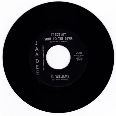 E. Williams - Trade My Soul To The Devil - Jaadee 505