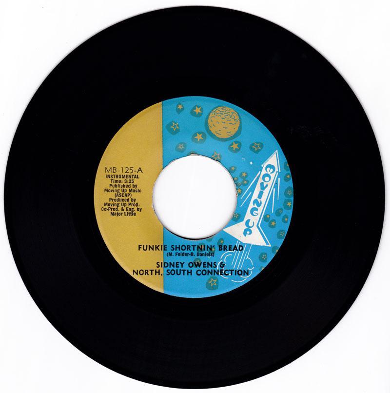 Sidney Owens & North, South Connection - Funkie Shortnin' Bread / Sputnik - Moving Up MB 125