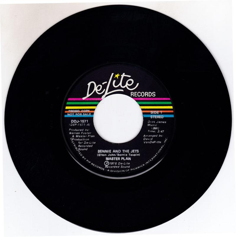 Bennie And The Jets/ Same: 3:47 Mono Version