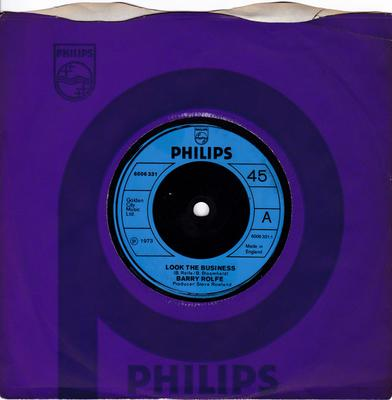 Barry Rolfe - Look The Business / Molly Molly - Philips 6006 331
