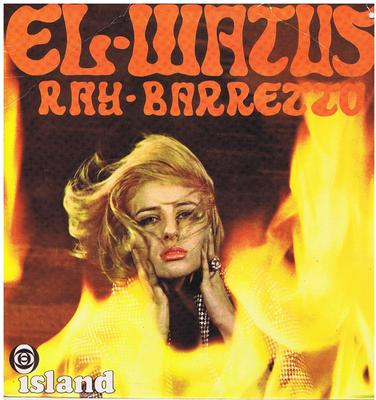 Ray Barretto - El Watusi / 1967 UK press - Island ILP 946