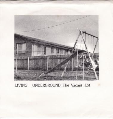 Vacant Lot - Living Underground / 4 Track 1981 EP - Doublethink 13055 EP PS