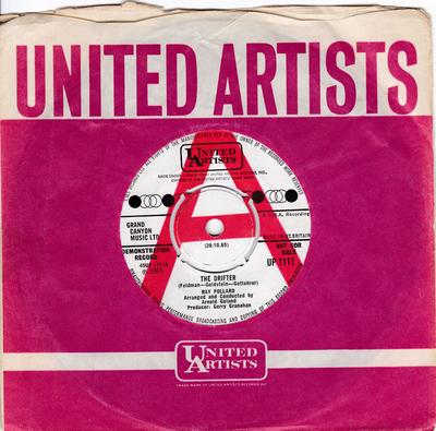 Ray Pollard - The Drifter / Let Him Go ( And Let Me Love You )  - United Artists UP 1111 DJ