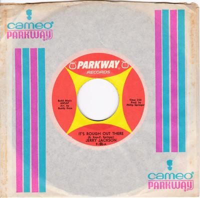 Jerry Jackson - It's Rough Out There / I'm Gonna Paint A Picture - Packway P-100