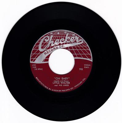 Little Walter and His Dukes - Oh Baby / Rocker - Checker 793