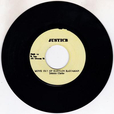 Image for Move Out Of Babylon Rastaman/ A Moving Version