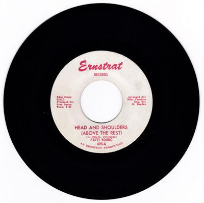Patti Young - Head And Shoulders ( Above The Rest ) / The Valiant Kind - Ernstrat 495