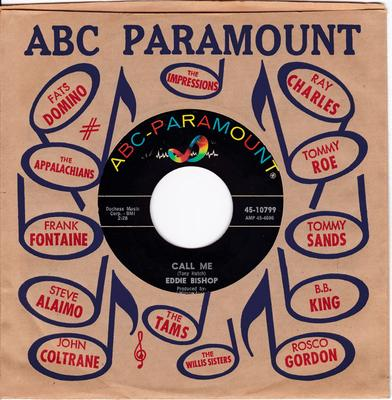 Eddie Bishop - Call Me / What Did He Say? - ABC-Paramonut 10799
