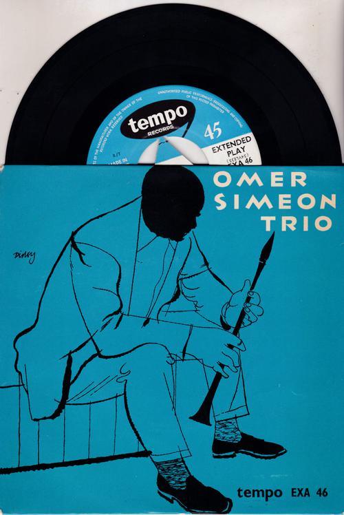 Omer Simeon Trio/ 4 Track Ep
