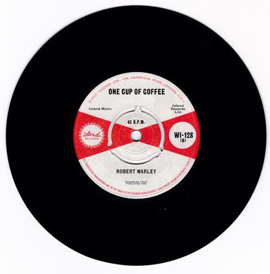 Robert Marley / Ernest Ranglin - One Cup Of Coffee / Exodus - Island WI 128