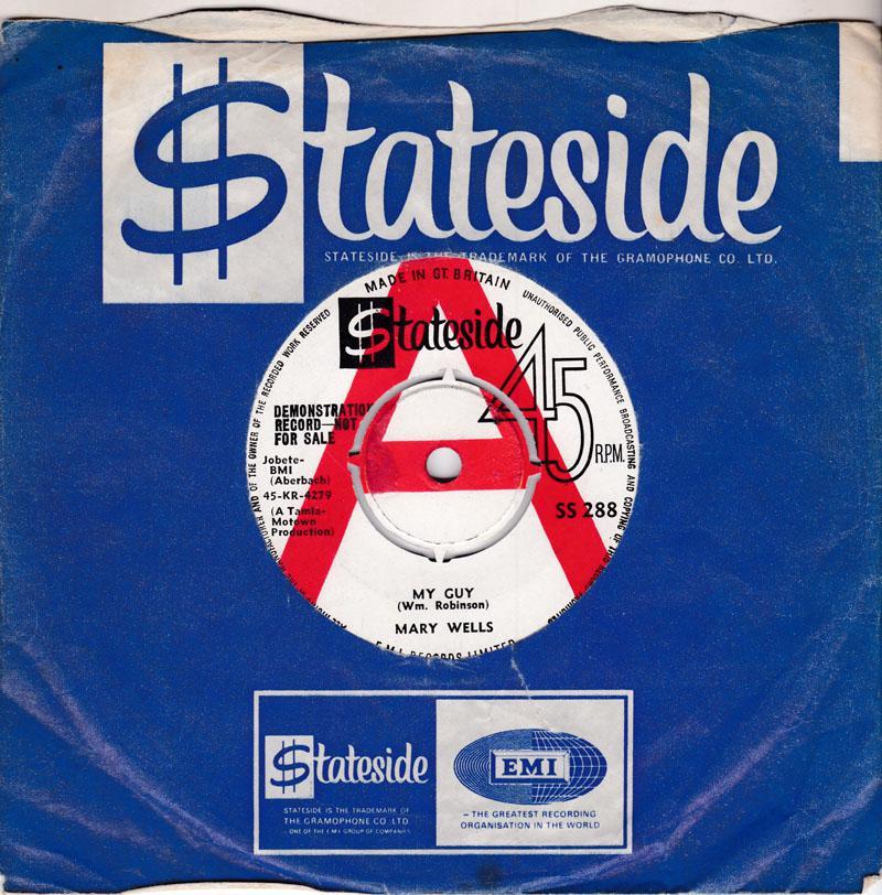 Mary Wells - My Guy / Oh Little Boy - Stateside SS 288 DJ