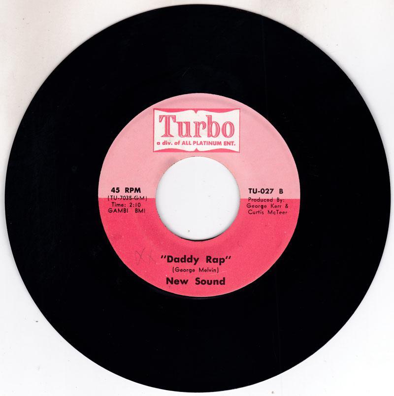 New Sound - Daddy Rap / Na Na Na - Turbo TU 027