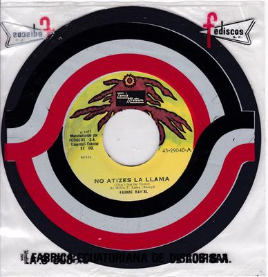 Frankie Kah'rl - Don't Fan The Flame / I'm In Love - Equador Tamla Motown 29040