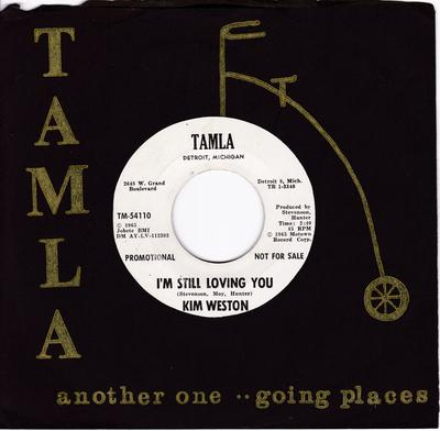 Kim Weston - I'm Still Loving You / Go Ahead And Laugh  - Tamla TM 54110 DJ
