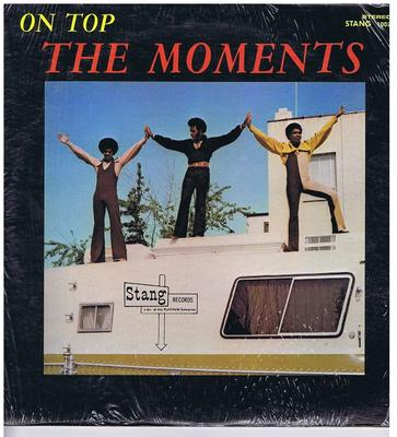 Moments - On Top / 1971 USA press - Stang ST-1002