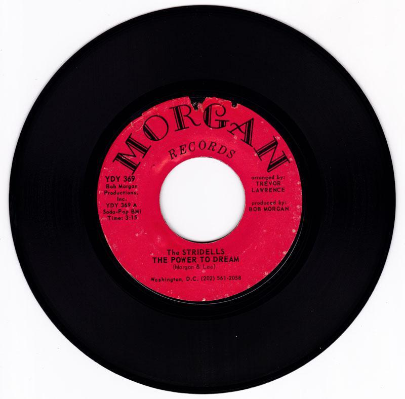 Stridells - The Power To Dream / Stick-Em Up kind Of Lovin' - Morgan YDY 369