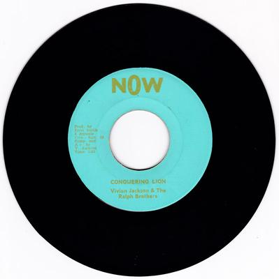 Vivian Jackson & The Ralph Brothers - Conquering Lion / version - Now 1098