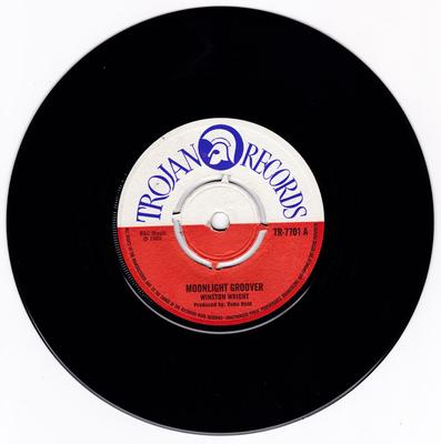 Winston Wright / Sensations - Moonlight Groover / Everyday Is Just A Holiday - Trojan TR 7701