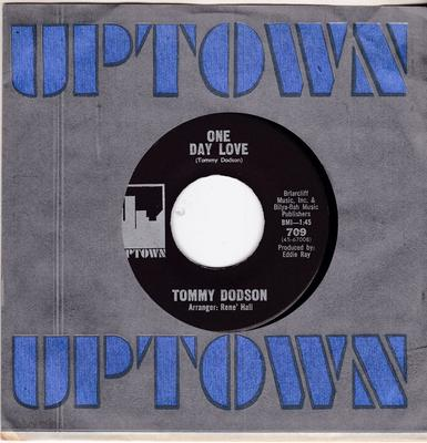 Tommy Dodson - One Day Love / Mind Reader - Uptowm 709