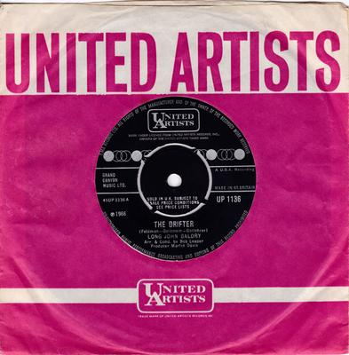 Long John Baldry - The Drifter / Only A Fool Breaks His Own Heart - United Artists UP 1136