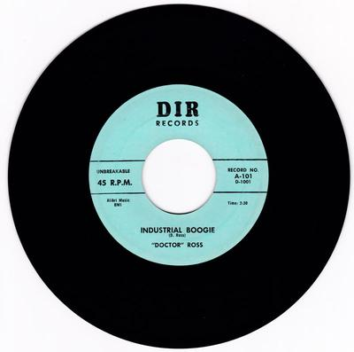 Doctor Ross - Industrial Blues / Thirty-Two Twenty - D I R 101