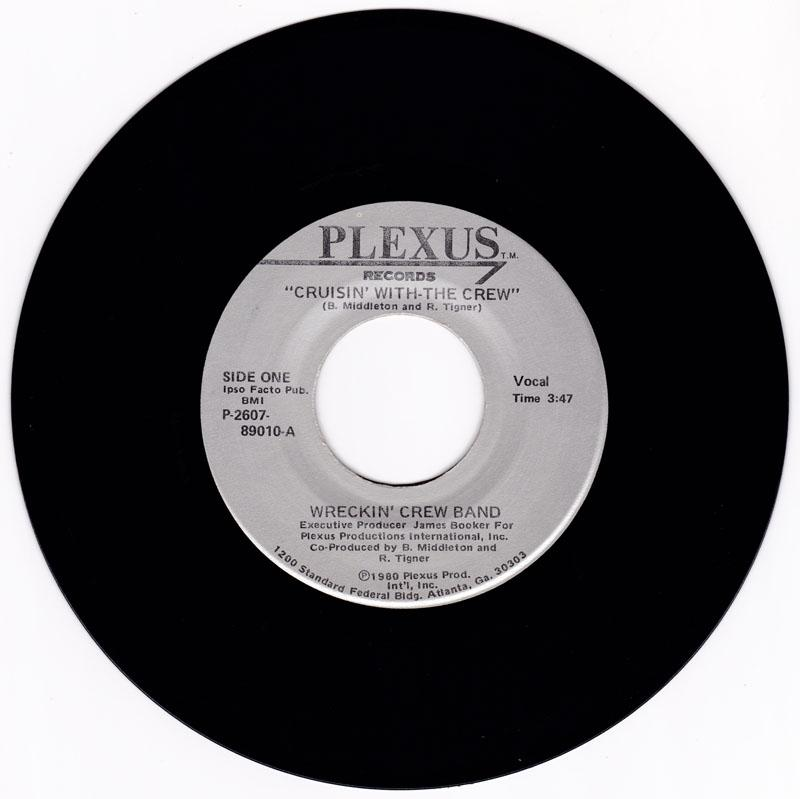 Wrecking Crew - Crusin With-The Crew / I Can't Stop Loving You - Plexus P- 2607-89010