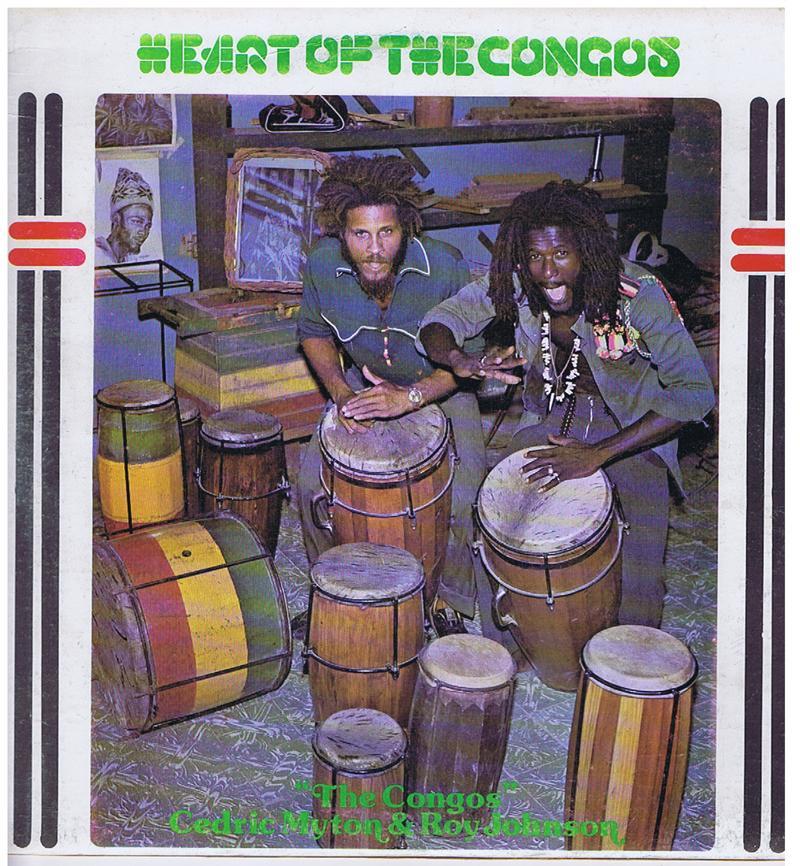 The Congos- Cedric Myton & Roy Johnson - Heart Of The Congos / 1977 Jamaican press - Black Art no #